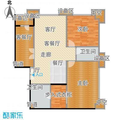 国瑞紫金阁3号公寓B2户型