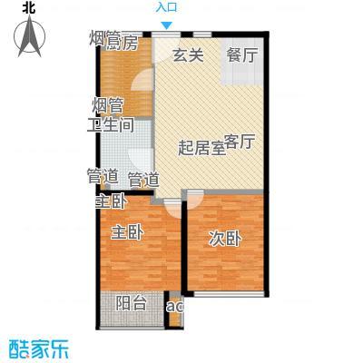 K2清水湾88.00㎡1#G1-3(售罄)户型