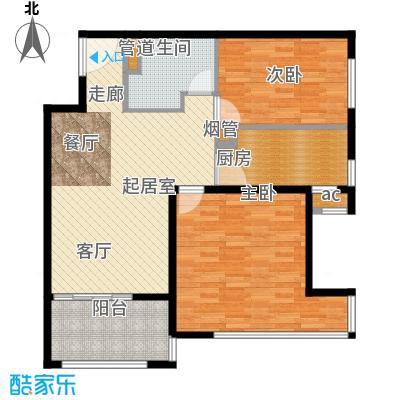 K2清水湾88.00㎡1#G1-6(售罄)户型