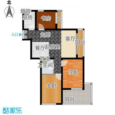 K2清水湾89.00㎡2-5#GX-4(售罄)户型