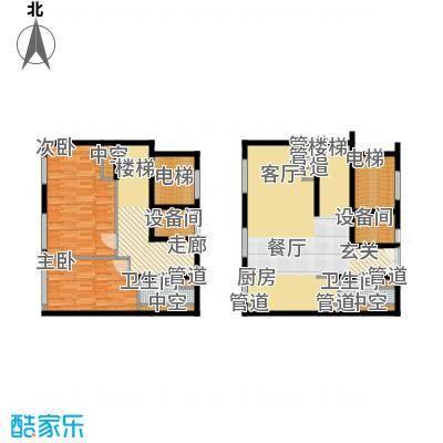 北京ONE148.48㎡1#1-B(售罄)户型