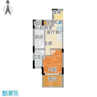 信基颐和湾55.00㎡G9户型
