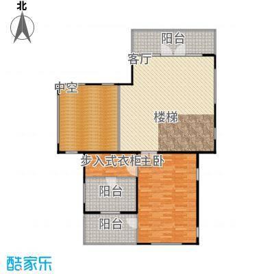 康城暖山B1-2二层户型