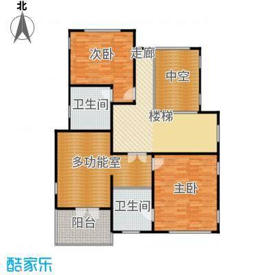 康城暖山B3-1二层户型