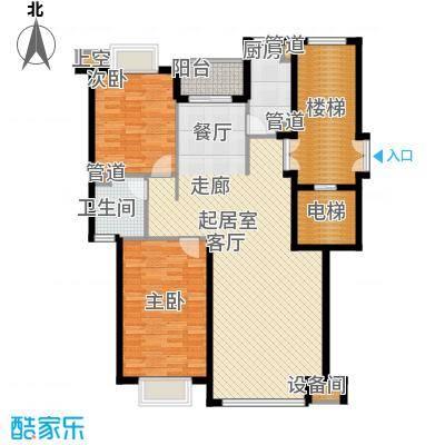 兴隆中泰广场111.96㎡A、B户型