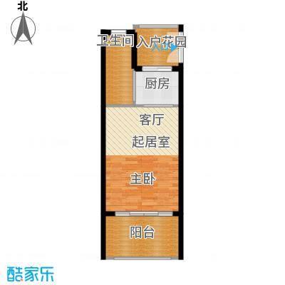 博鳌经典39.40㎡公寓紧凑型户型