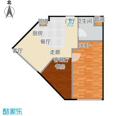 西贸国际·熙旺中心71.26㎡西贸国际・熙旺中心C户型