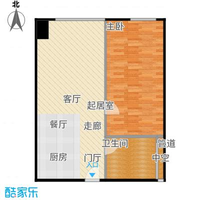 西贸国际·熙旺中心68.98㎡西贸国际・熙旺中心G户型