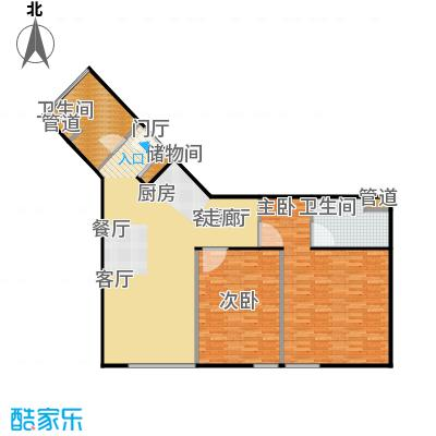 西贸国际·熙旺中心121.72㎡西贸国际・熙旺中心E户型
