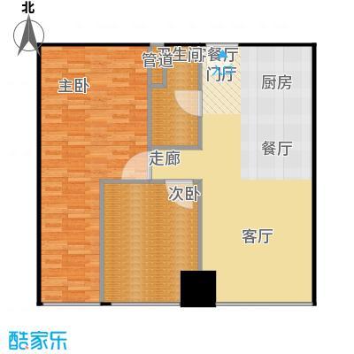 西贸国际·熙旺中心91.96㎡西贸国际・熙旺中心B户型