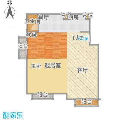 正源·尚峰尚水源墅78.00㎡正源・尚峰尚水源墅二期C4楼A户型