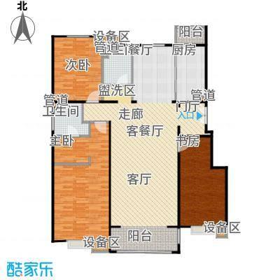 正源·尚峰尚水源墅153.00㎡正源・尚峰尚水源墅一期B4、B5号楼F户型