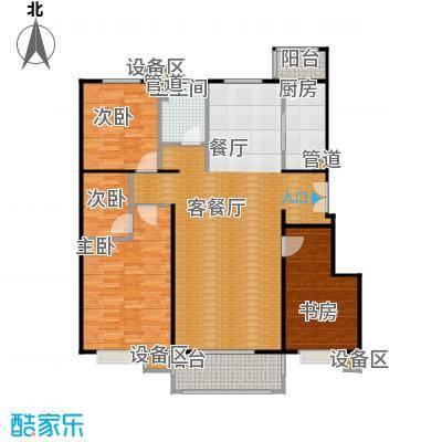 正源·尚峰尚水源墅131.00㎡正源・尚峰尚水源墅一期B2、B5号楼E户型