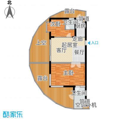 佳兆业东戴河114.00㎡A(售罄)户型