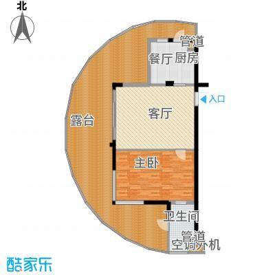 佳兆业东戴河公寓D(售罄)户型