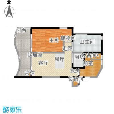 隆源·神州半岛105.00㎡隆源・神州半岛D户型