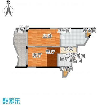 隆源·神州半岛89.00㎡隆源・神州半岛C户型