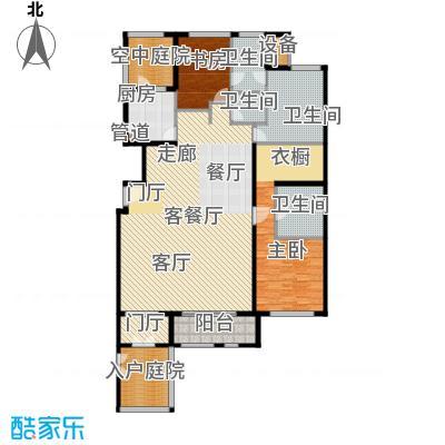 海棠公社195.00㎡22号楼B户型