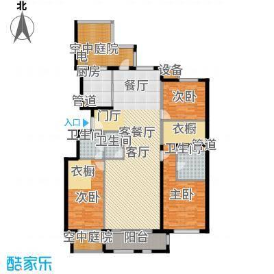 海棠公社185.00㎡23#2层F户型