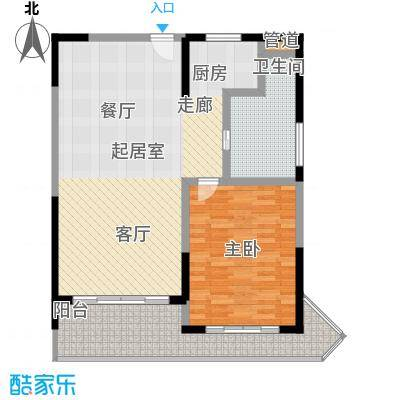 博鳌宝莲城95.46㎡F02/型户型