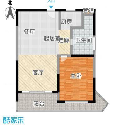 博鳌宝莲城95.46㎡F02户型