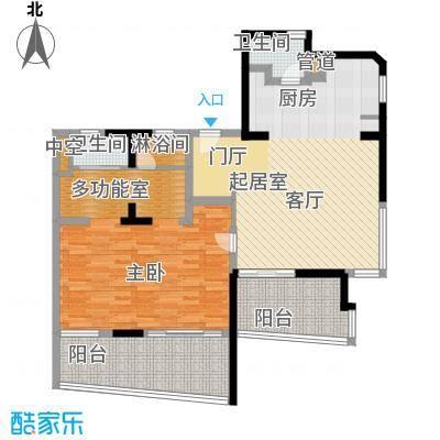 博鳌宝莲城104.10㎡隐海公寓D02/0(24-26层)户型