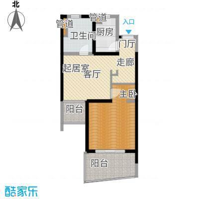 博鳌宝莲城71.43㎡领海公寓C/D座(04/0)户型