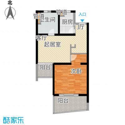 博鳌宝莲城71.40㎡领海公寓户型