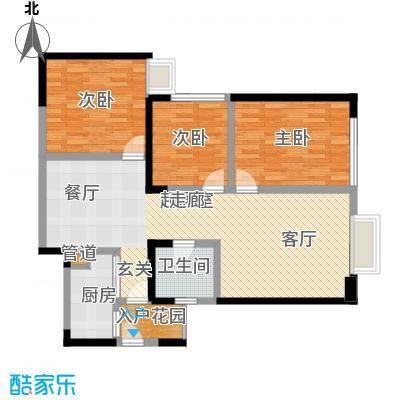 东方希望天祥广场天荟107.00㎡一期3号楼标准层B1-5户型