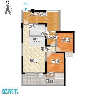 司南89.00㎡一期5号楼标准层H1户型