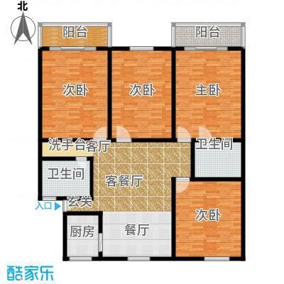 庆春东路62号院139.00㎡面积13900m户型