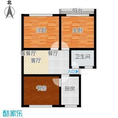 庆春东路62号院62.00㎡面积6200m户型