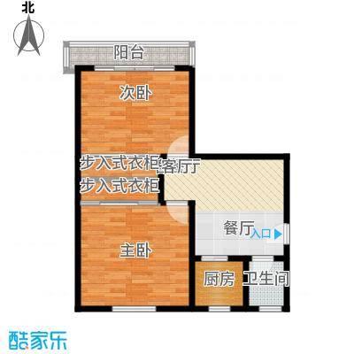 庆春东路62号院65.00㎡面积6500m户型