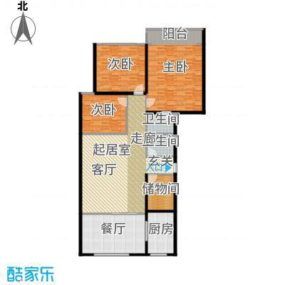 罗马公寓166.00㎡面积16600m户型