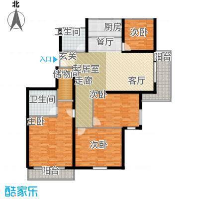 罗马公寓157.00㎡面积15700m户型