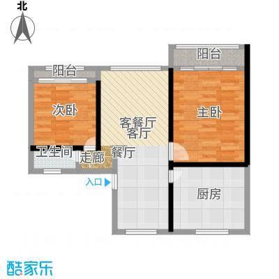 五福新村60.00㎡面积6000m户型