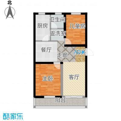 东方公寓(九堡)83.00㎡东方公寓户面积8300m户型