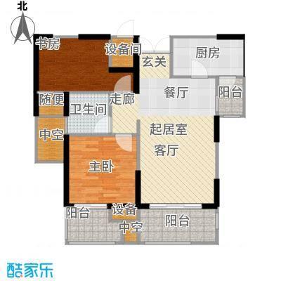 世茂首府87.00㎡2、9、10号楼4-面积8700m户型