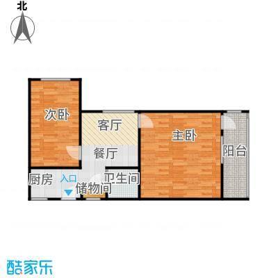 东新关68.00㎡面积6800m户型