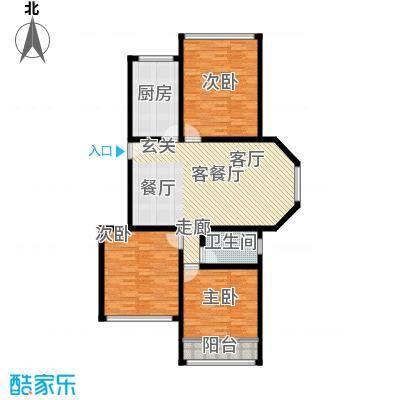 雨花区检察院宿舍123.00㎡面积12300m户型