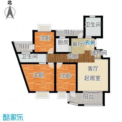 广利佳苑134.47㎡面积13447m户型