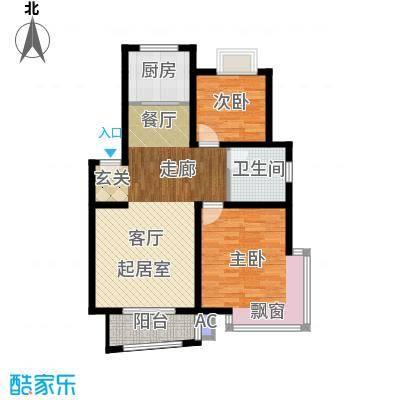 广利佳苑89.38㎡面积8938m户型