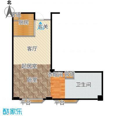 丁香公馆A61户型