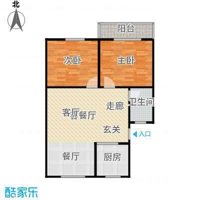 东清大厦75.00㎡面积7500m户型