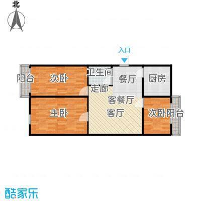 东清大厦76.00㎡面积7600m户型