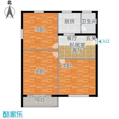 中北花园122.00㎡面积12200m户型