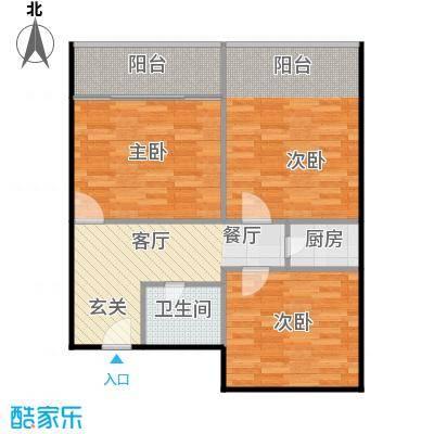 东园大楼73.00㎡面积7300m户型