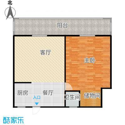 邮政职工公寓95.00㎡面积9500m户型