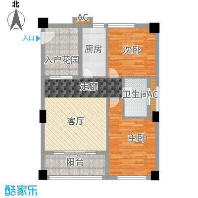 金领公寓88.96㎡K31面积8896m户型