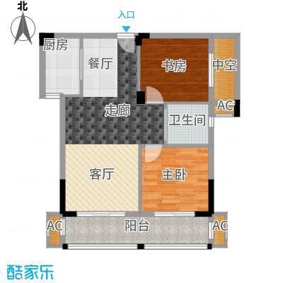 金领公寓79.07㎡A31面积7907m户型